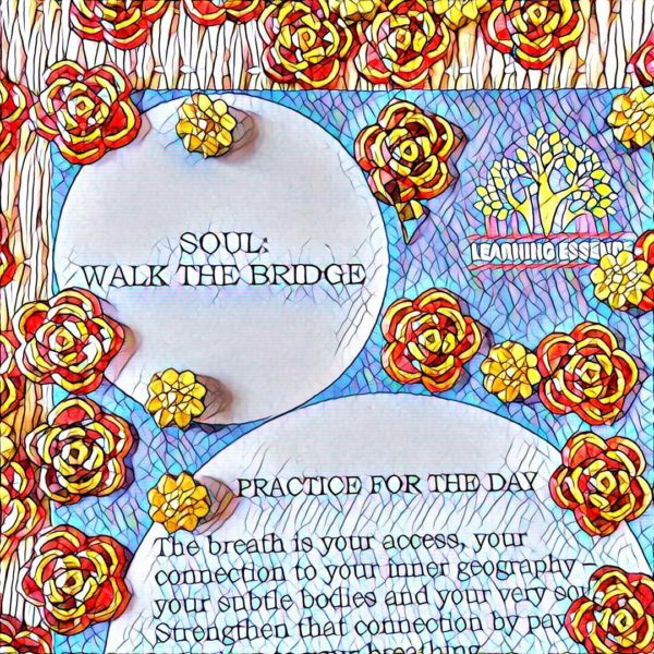 #NaBloPoMo: Day #12: Soul- walk the bridge