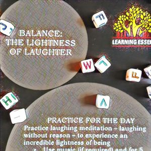 #NaBloPoMo: Day #13: Balance- The lightness of laughter