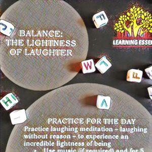 #NaBloPoMo: Day #13: Balance- The lightness of laughter