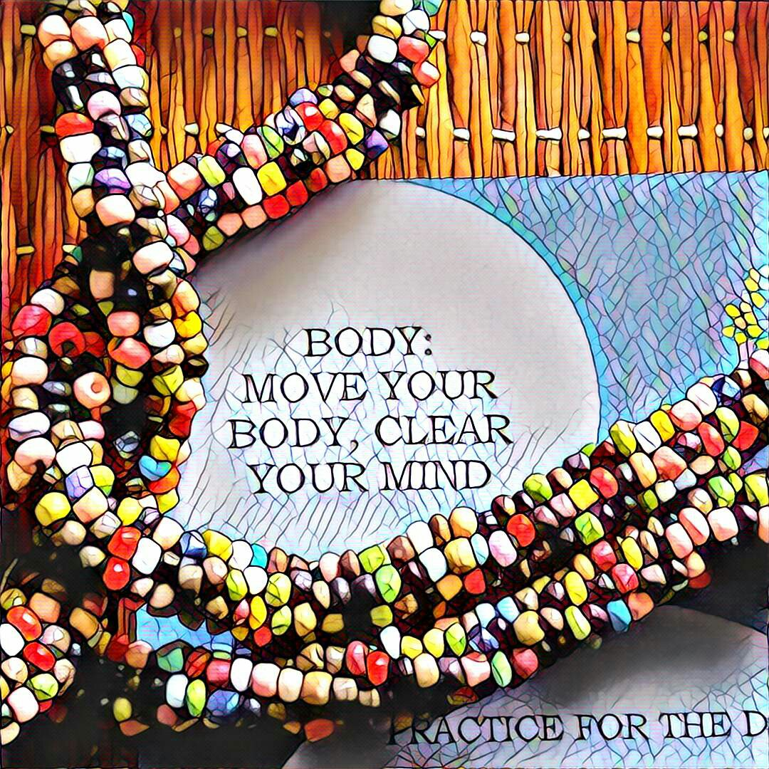 #NaBloPoMo: Day #23: Body-Move your body, clear your mind