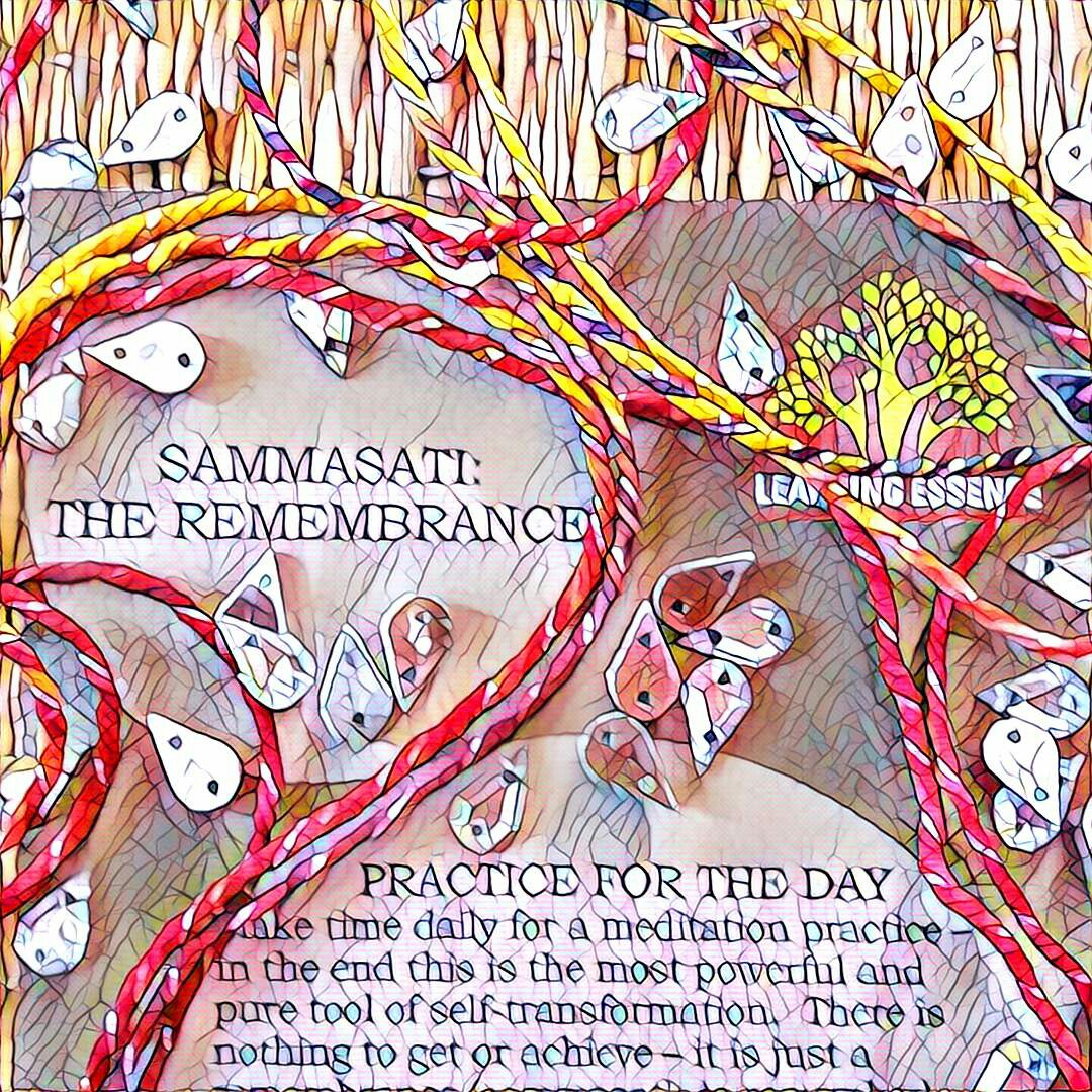 #NaBloPoMo: Day #30: Sammasati – The remembrance!