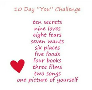 "10 Day ""You"" Challenge – Seven Wants"