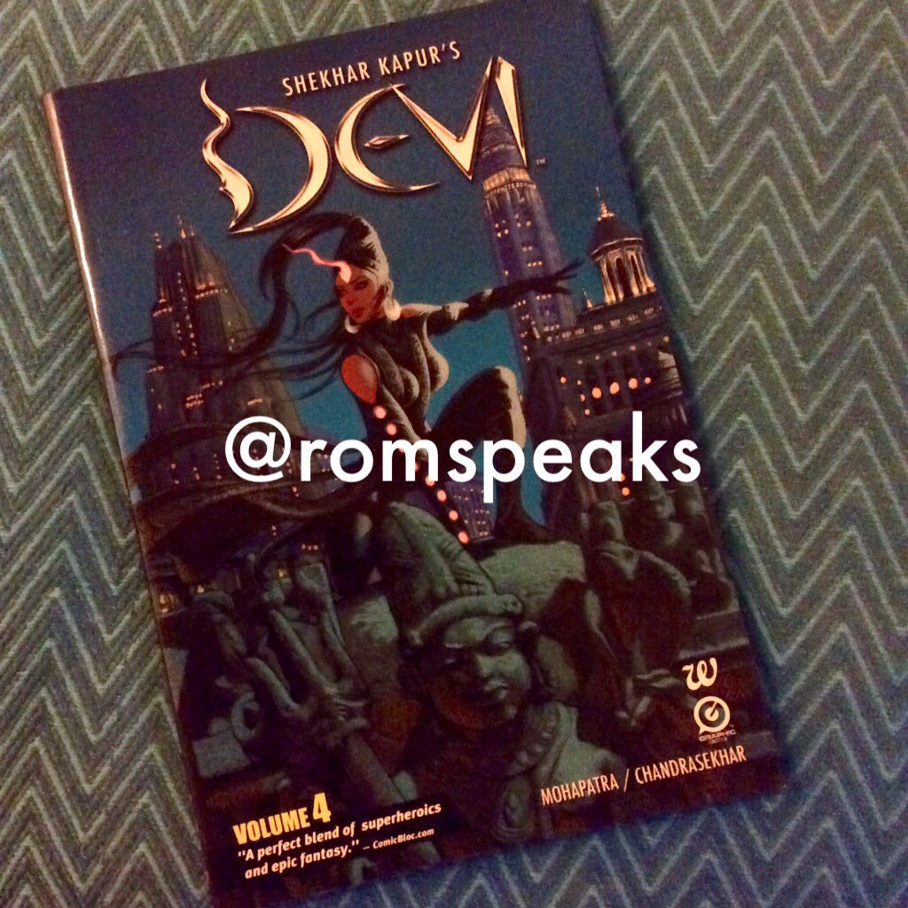 | Guestblogging | Comics | Shekar Kapur's Devi | Saurav Mohapatra & Chandrasekhar |