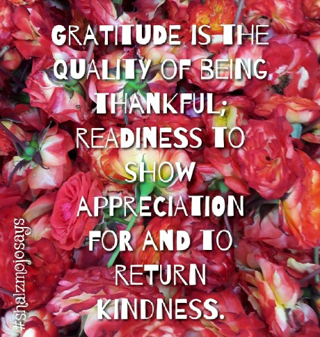 | #ThankfulThursdays | Silent Gratitude |