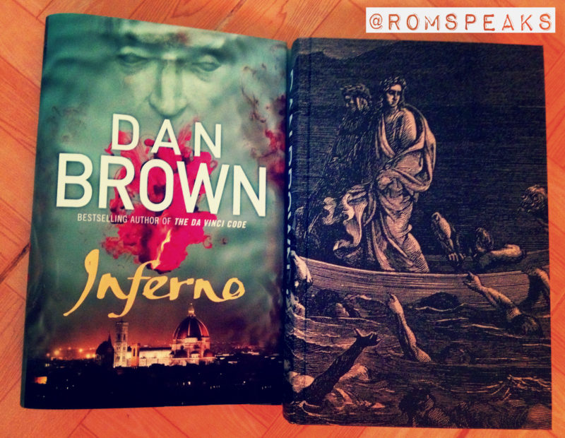 | GuestBlogging | Book Review | Book2Movie | Inferno | Dan Brown |