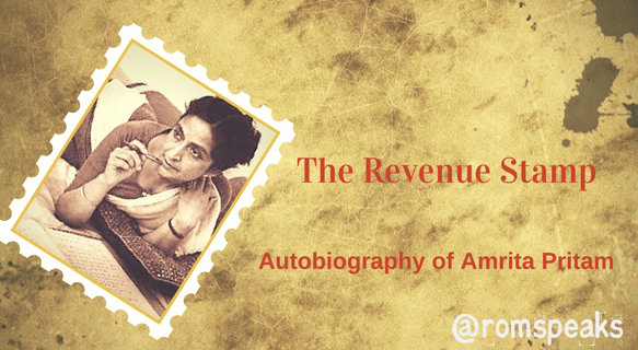 | GuestBlogging | Book Review | The Revenue Stamp | Amrita Pritam | Indian Regional Language |